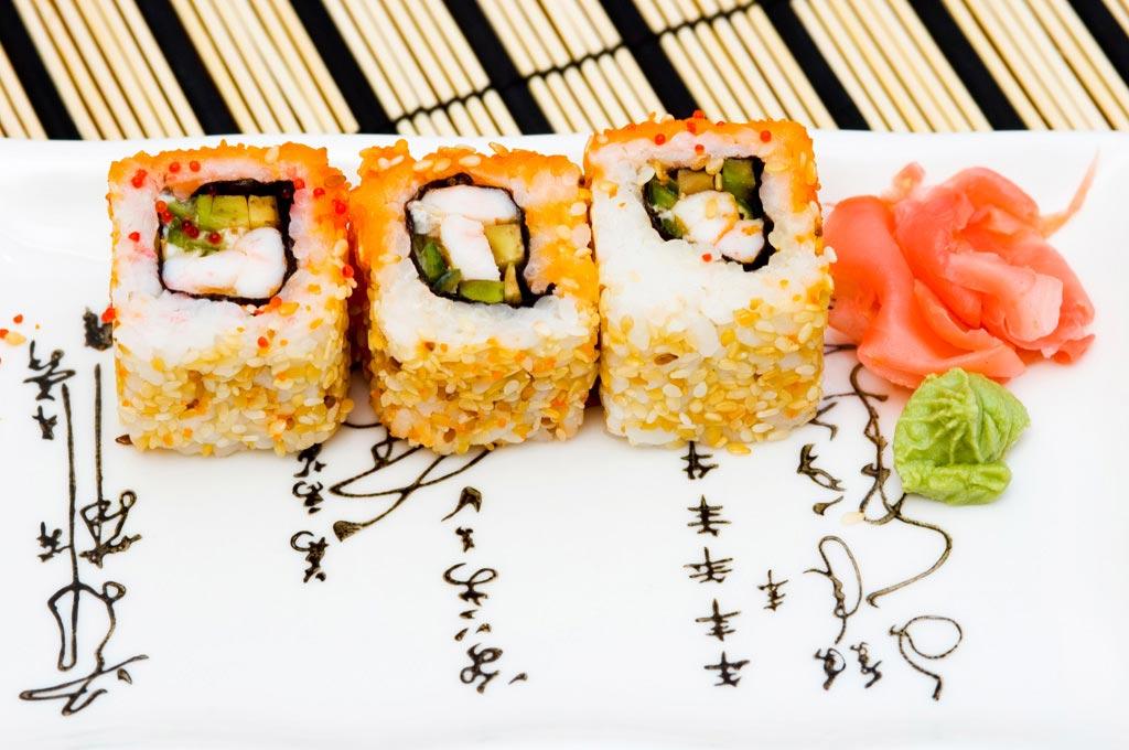 Ginger Sushi Lounge Santorini